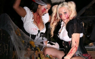 Stripster Ivy - Halloweenshoot